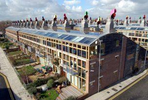 Commercial Building Solar Roof - Social Solar